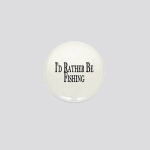 Rather Be Fishing Mini Button